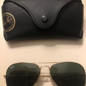 Aviator Classic raybans good condition